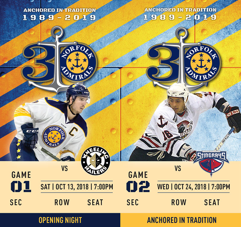 Norfolk Admirals tickets 1