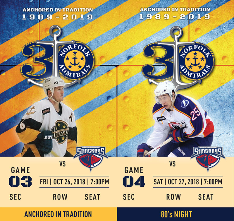 Norfolk Admirals tickets 2
