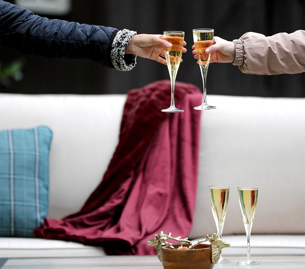 Agio furniture champagne toast