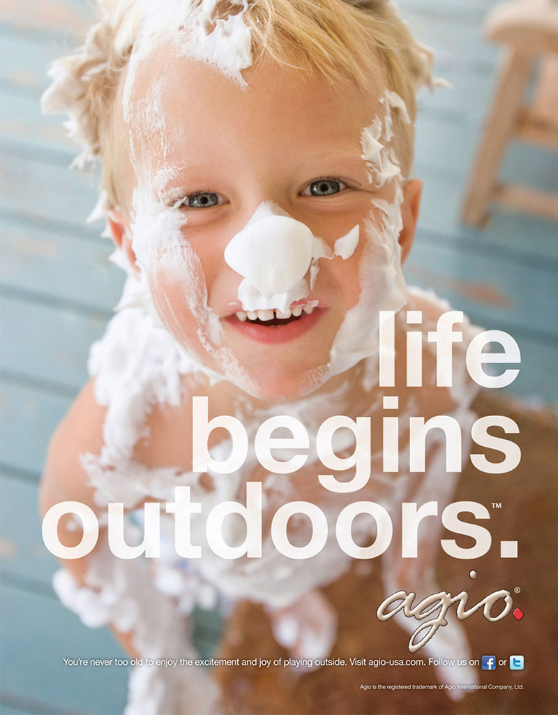 Agio ad - Life Begins Outdoors