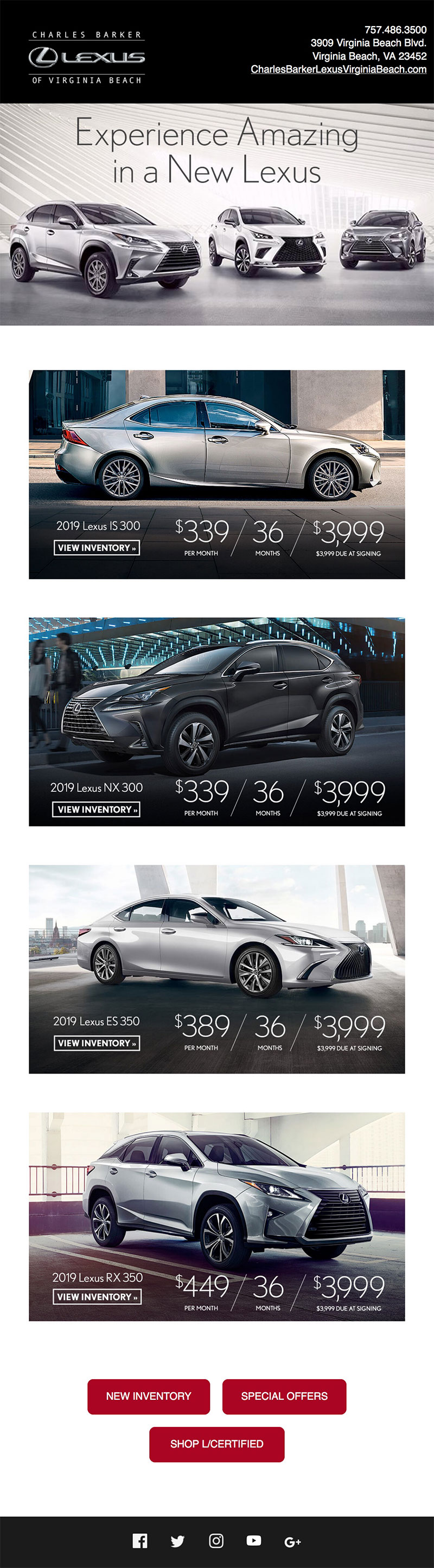 Charles Barker Lexus email