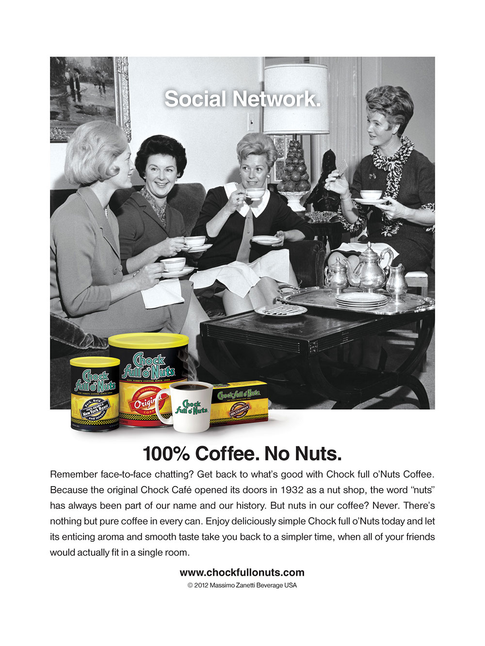 Chock Social Network ad