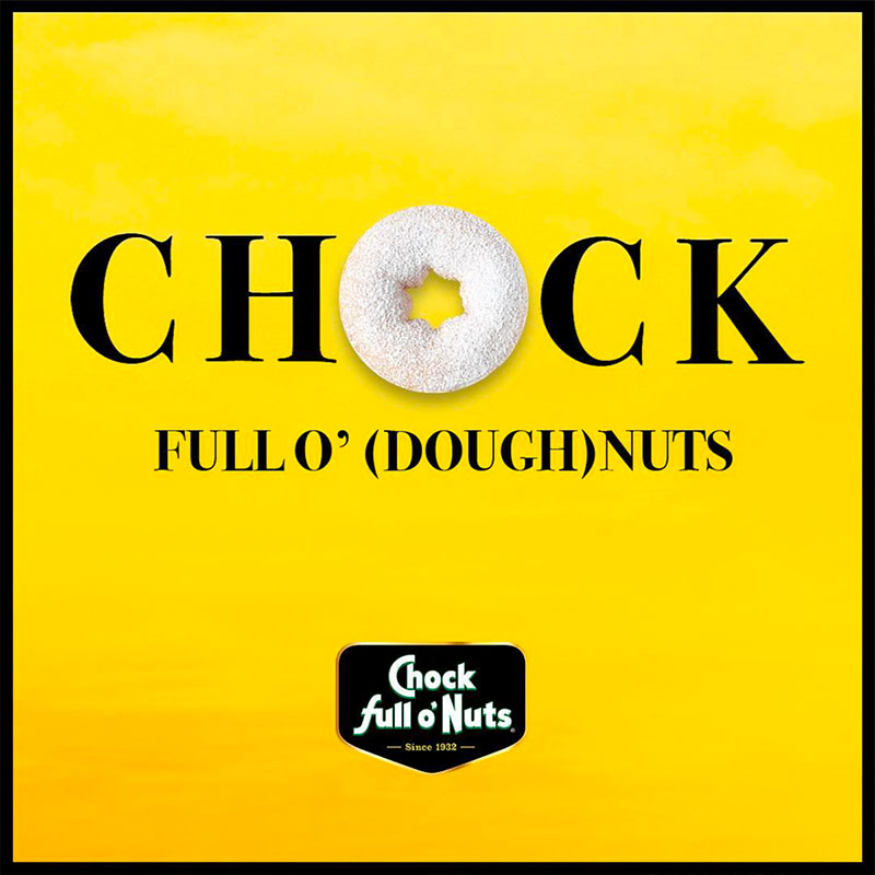 Chock social post - doughnuts
