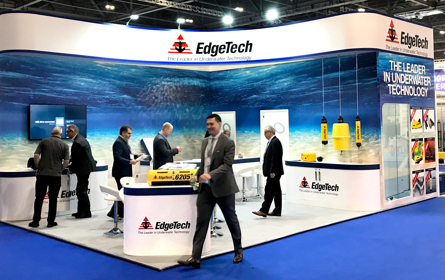 EdgeTech Trade Show Booth