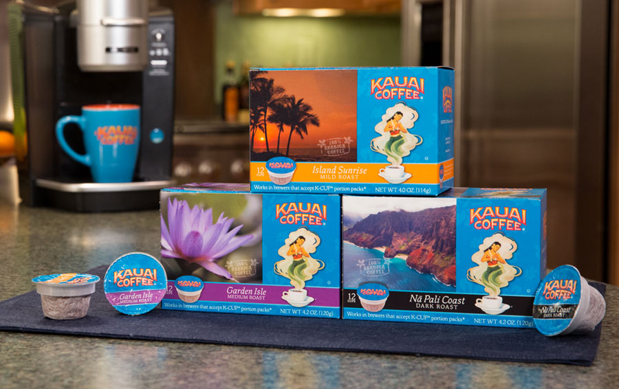 Kauai packaging - single serve boxes
