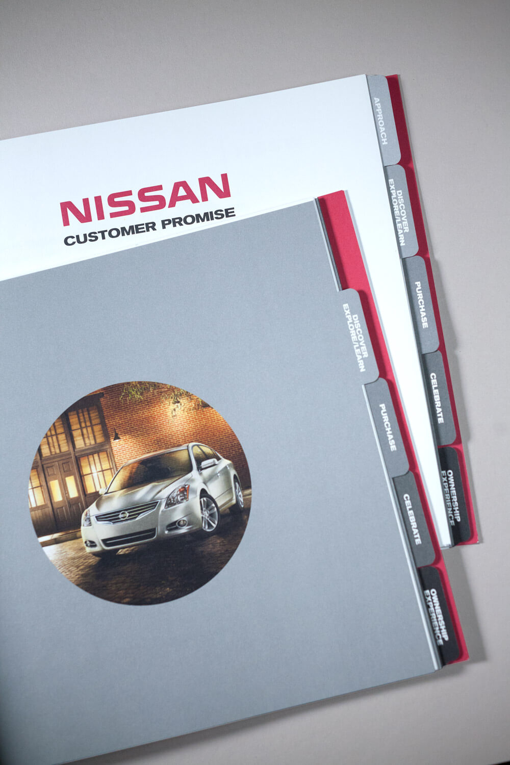 Nissan Sales and Service Way Sales Consultant Incentive Program Brochure