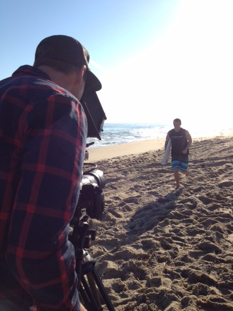 Sandbar Rum TV production