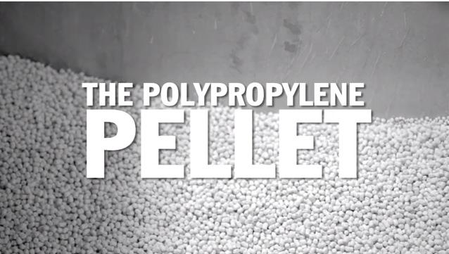 Yupo pellets
