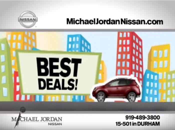 Michael Jordan Nissan TV