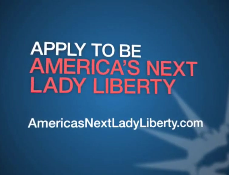 apply to be america's next lady liberty